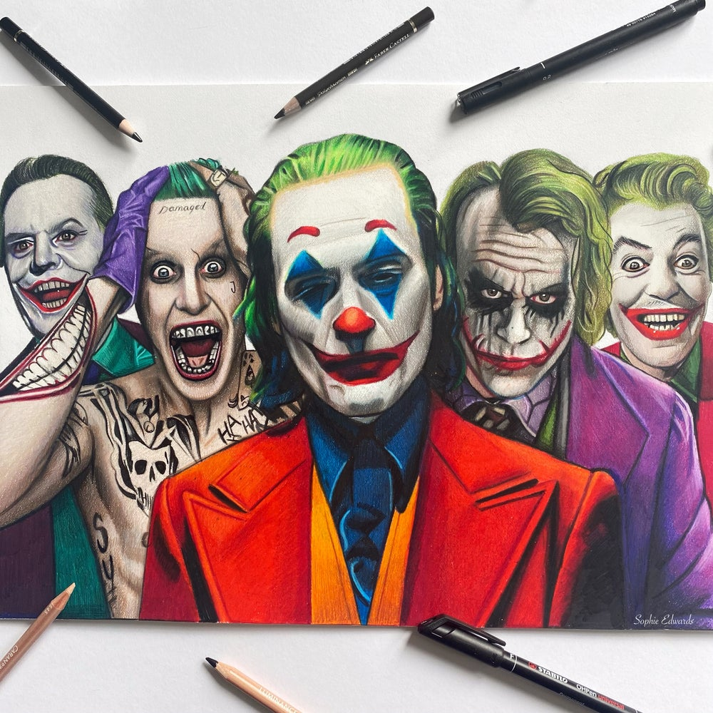 Image of Jokers print