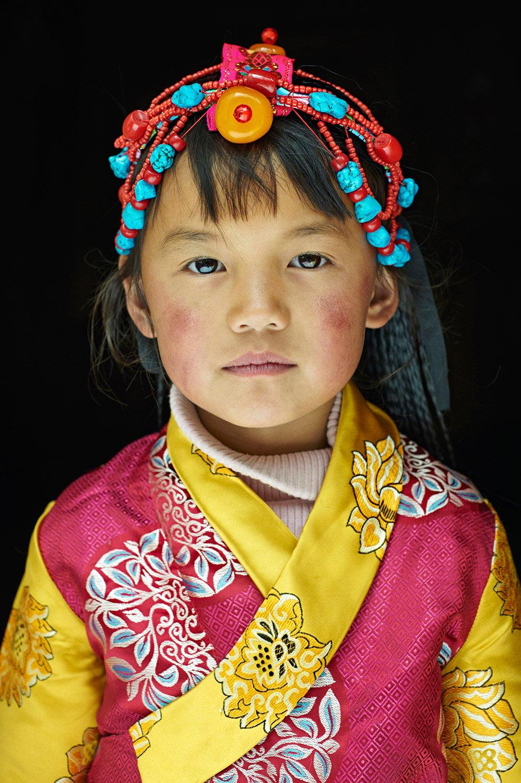 Image of Tibetan Girl // Simon Urwin
