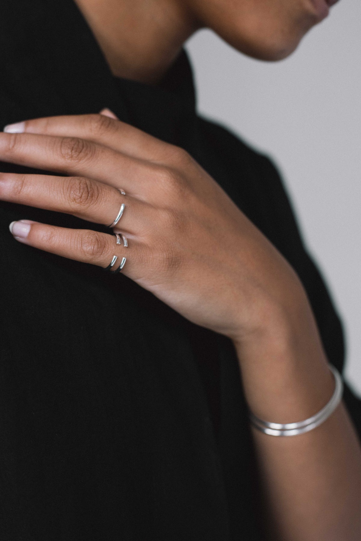 Image of SINGLE SILVER RING