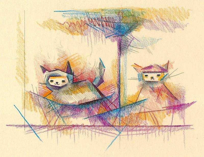 """""""Floaty Cats"""""""