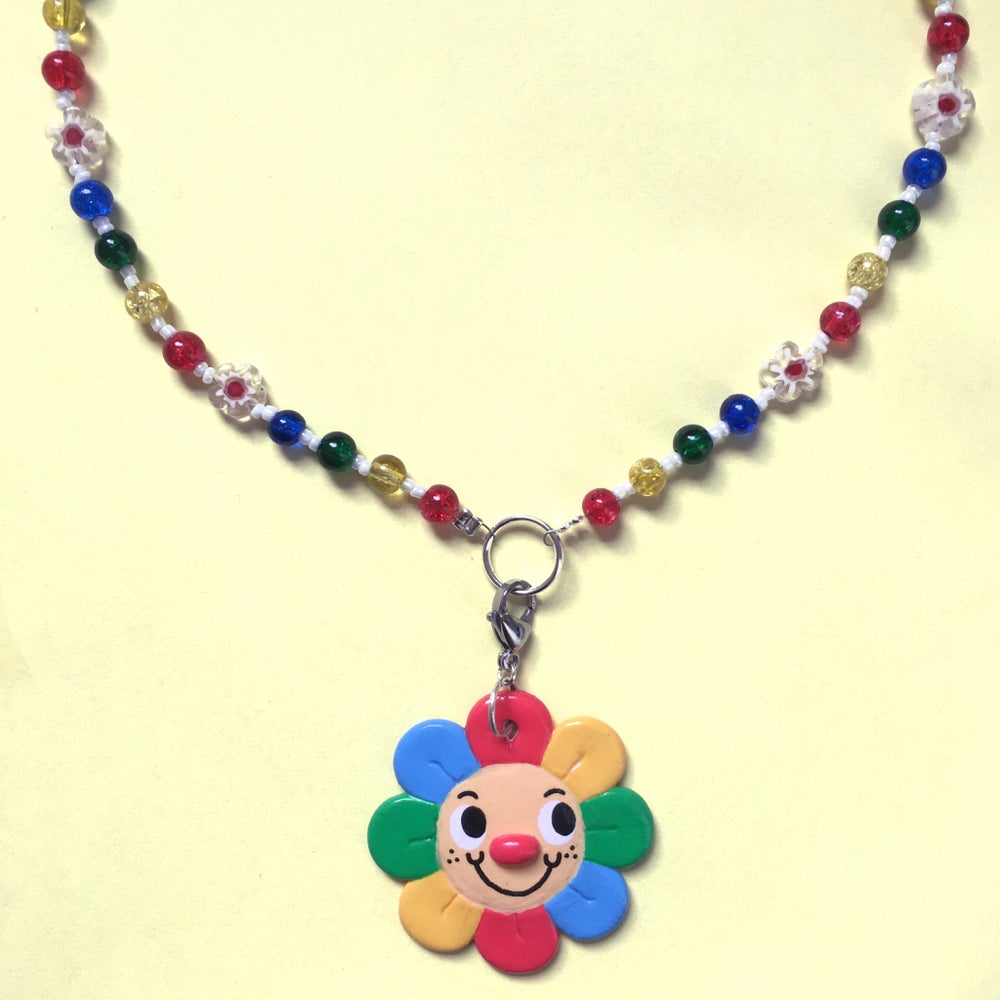 Playhouse Flower Charm Necklace