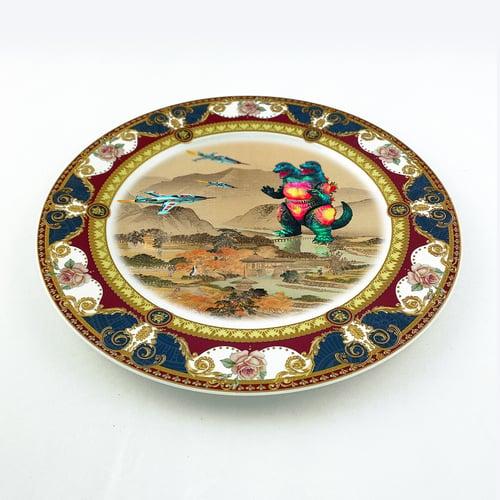 Image of Won't stop us - Selfportrait - Large Fine China Plate - #0777