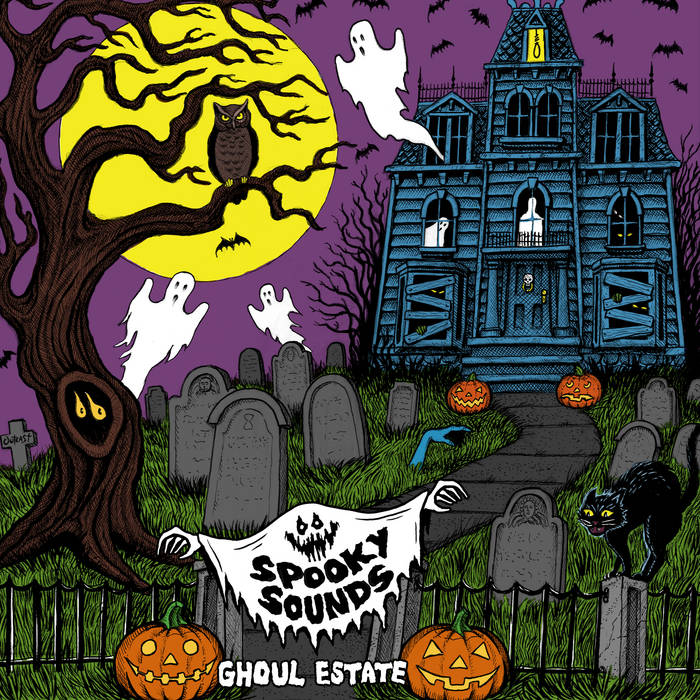 Image of Spooky Sounds - Ghoul Estate - 7 Inch EP *PRE-ORDER*