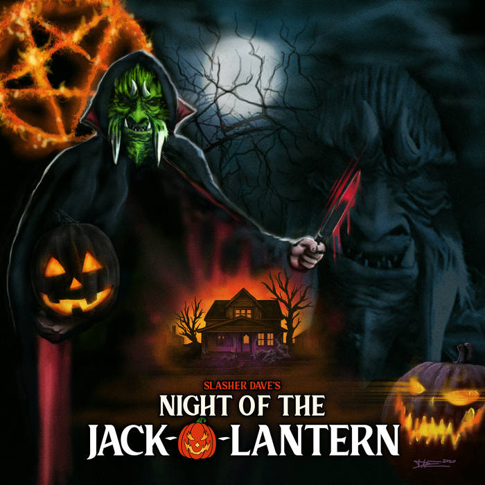 Image of Slasher Dave - Night Of The Jack-O-Lantern - LP *PRE-ORDER*