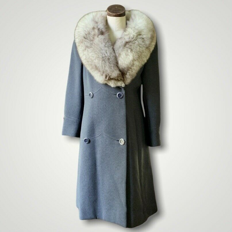 STEGARI New York Fox Fur Coat Medium