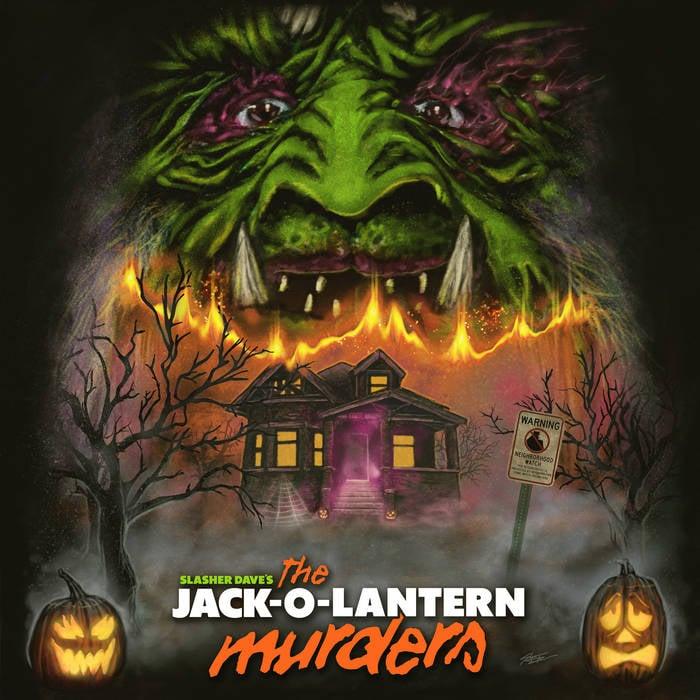 Image of Slasher Dave - The Jack-O-Lantern Murders - LP *PRE-ORDER*