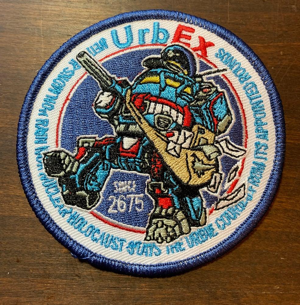 "Image of Urbex 3.5""x 3.5"" patch"