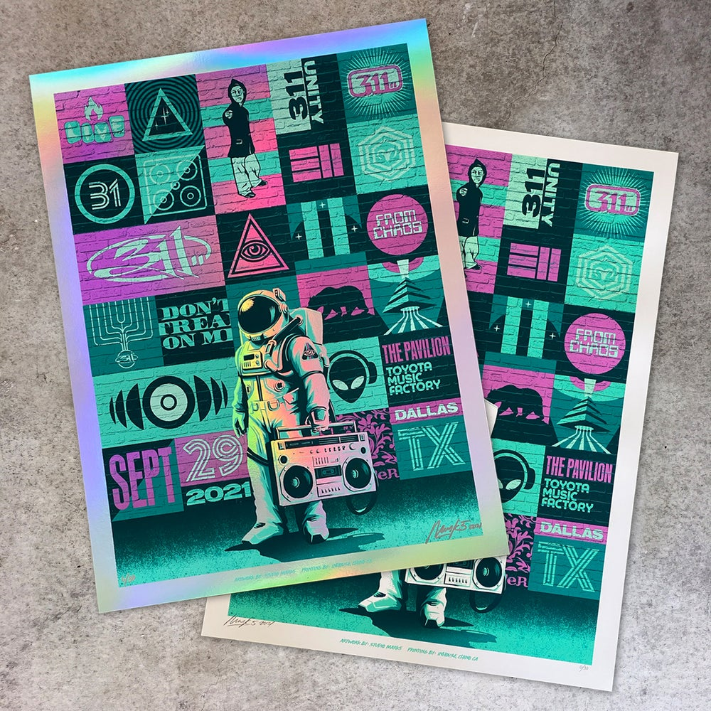 Image of 311 Dallas Posters