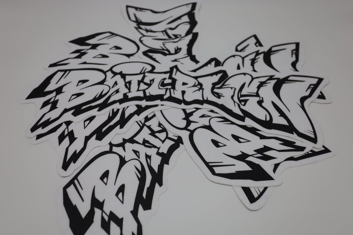 Image of GRAFFITI CARPET DECAL
