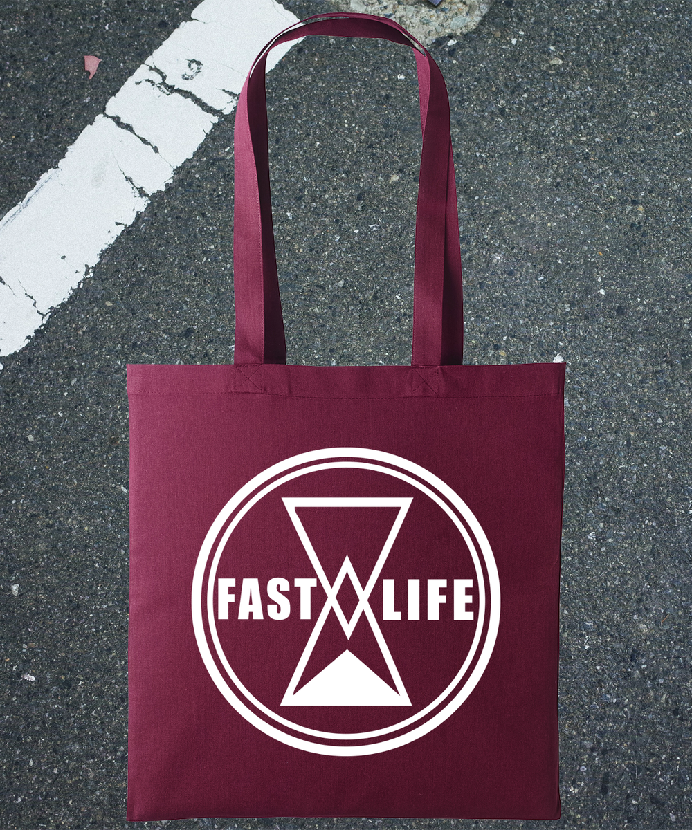 """Tote bag """"Label"""" by Fast Life"""
