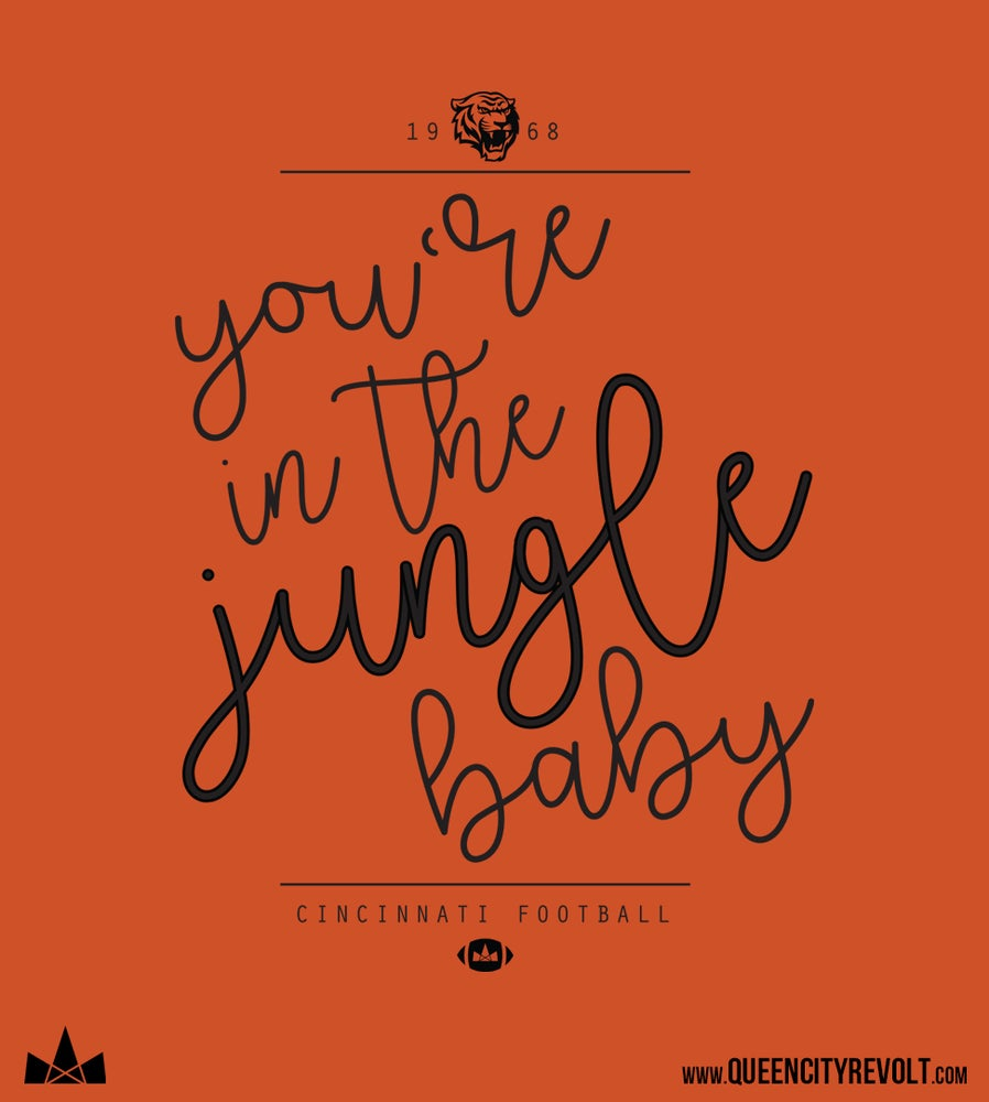 Image of You're in the Jungle Baby, Women's Triblend Tee, Orage