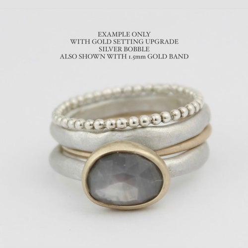 Image of GREY SAPPHIRE RING 10