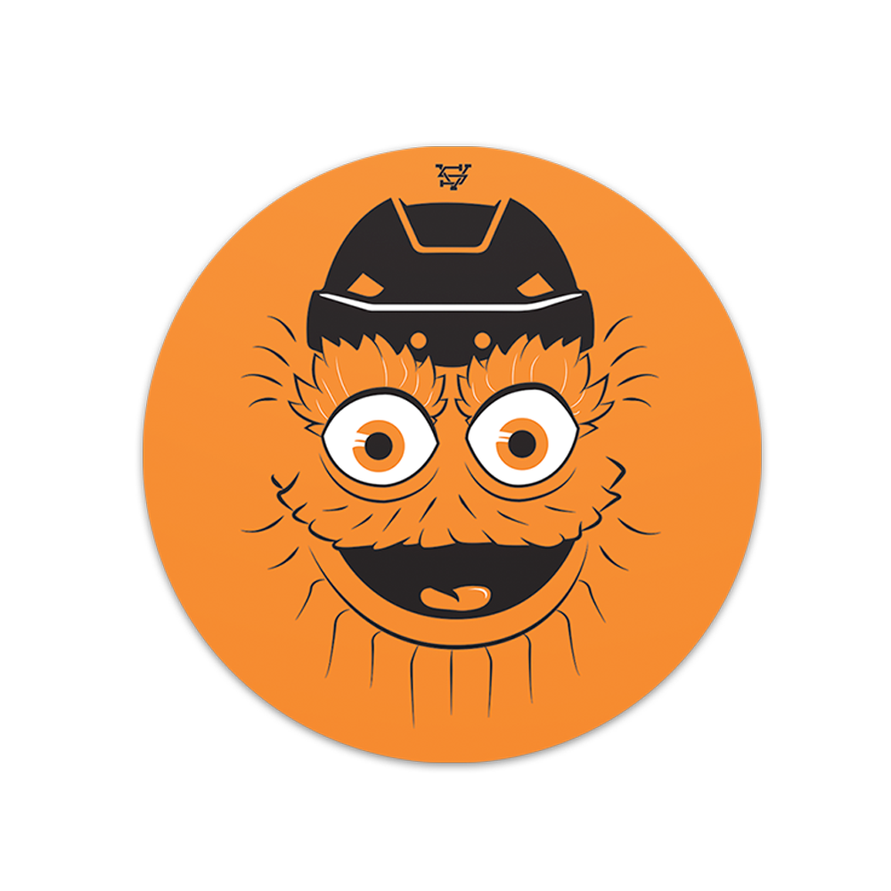Image of G is for Gritty Sticker