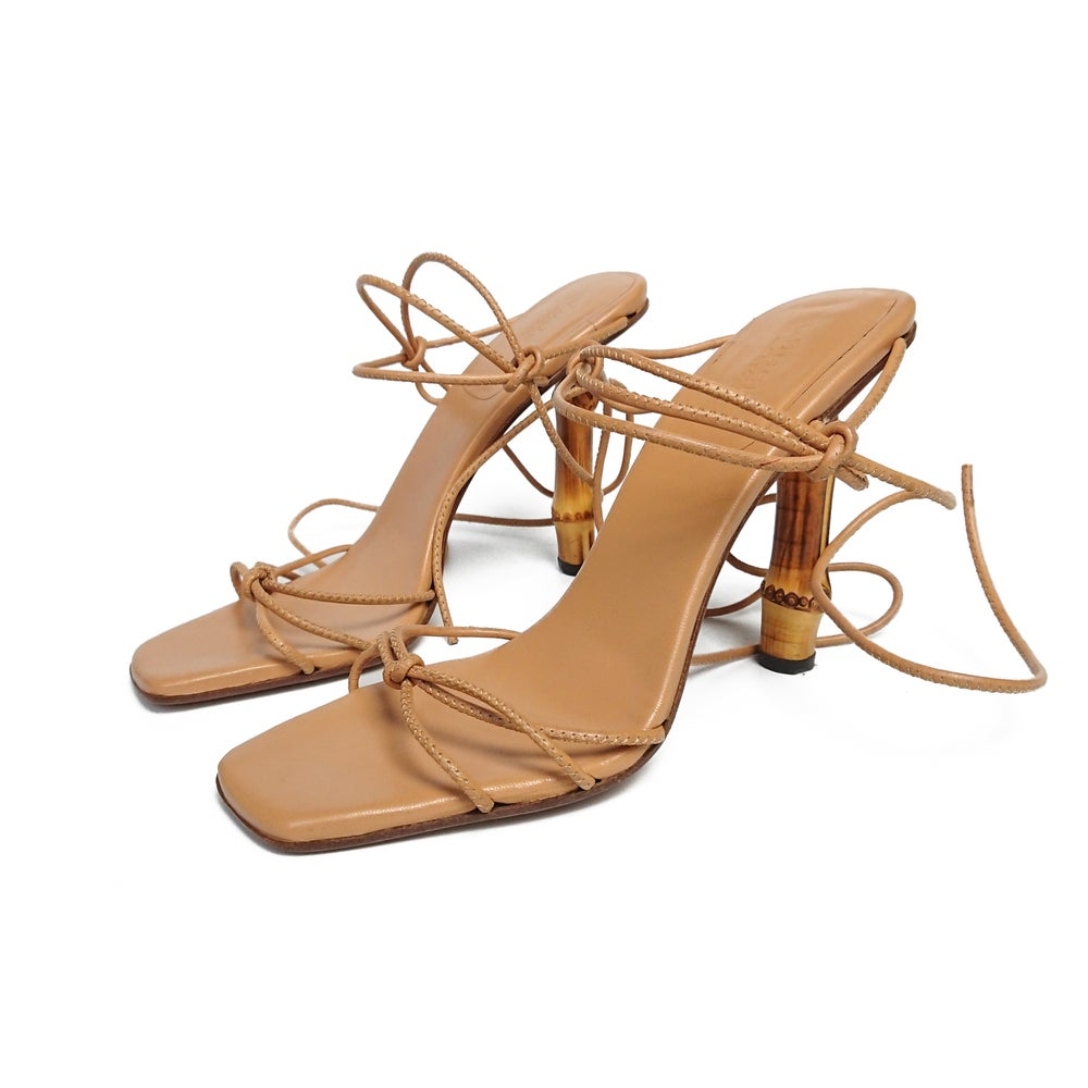 Image of Gucci by Tom Ford 2002 Bamboo Heels