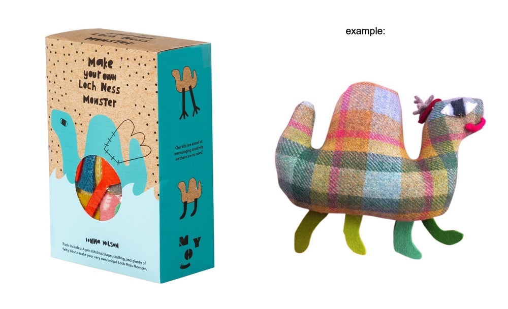 Image of Make Your Own Kits (Loch Ness Monster, Cloud, or Magpie)