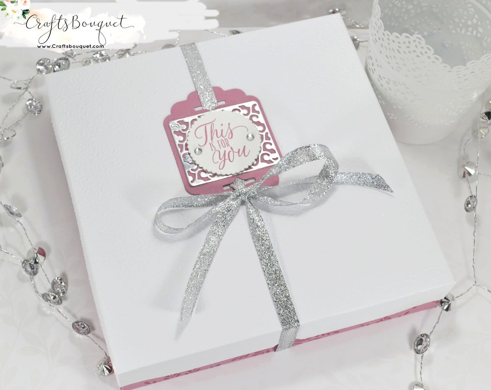 Image of Frosted Medallions Christmas Stationary Set