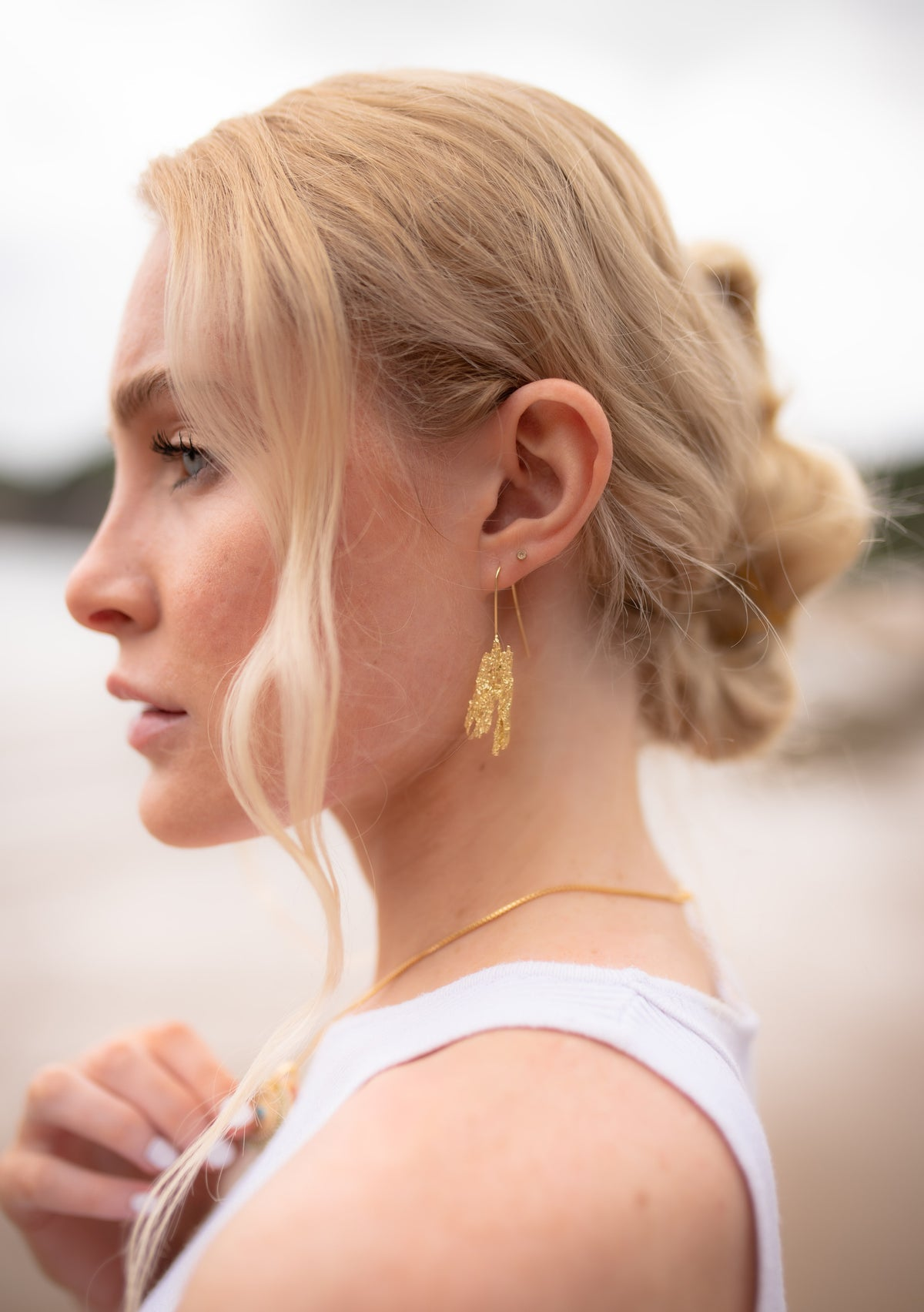 Sun Beam Earrings