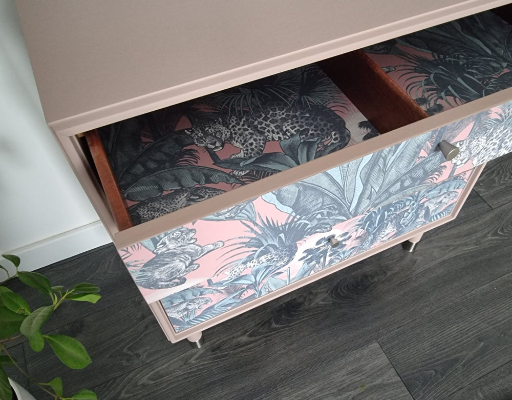 Image of •RESTYLED TO ORDER• G PLAN FORM FIVE CHEST OF DRAWERS