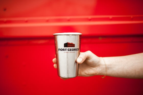 Image of FG Stainless Steel Pint