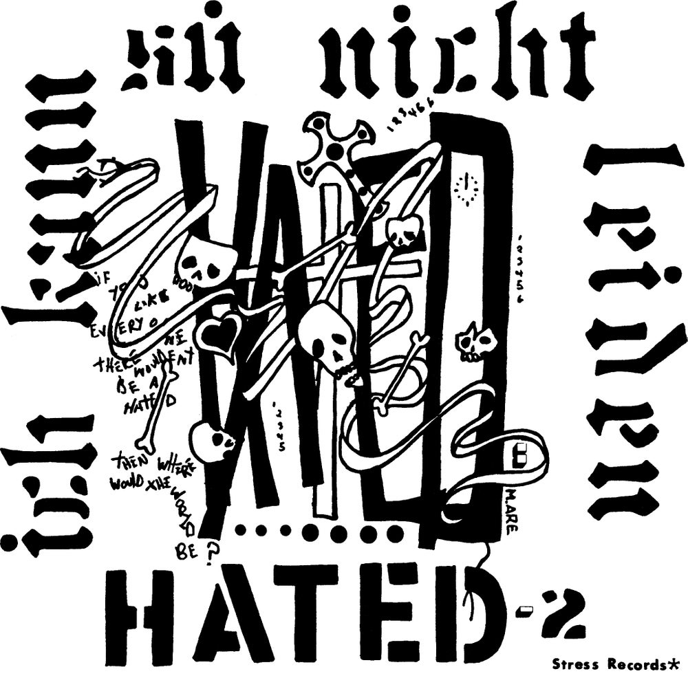 """Image of HATED - Pressure 7"""""""