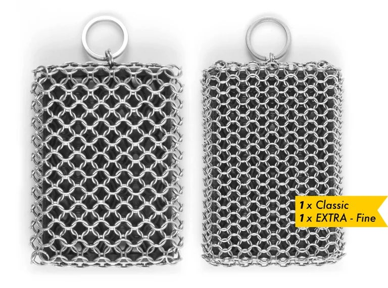 Image of 1x Classic and 1x Extra Fine scrubber