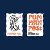 Halloween Mr. Jack-O-Zip Stamps — Digital Download (Black and Orange)