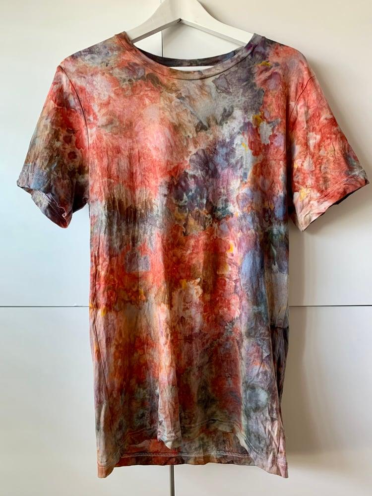 Image of Tie Dye 1/1 M (Kilauea Burst)