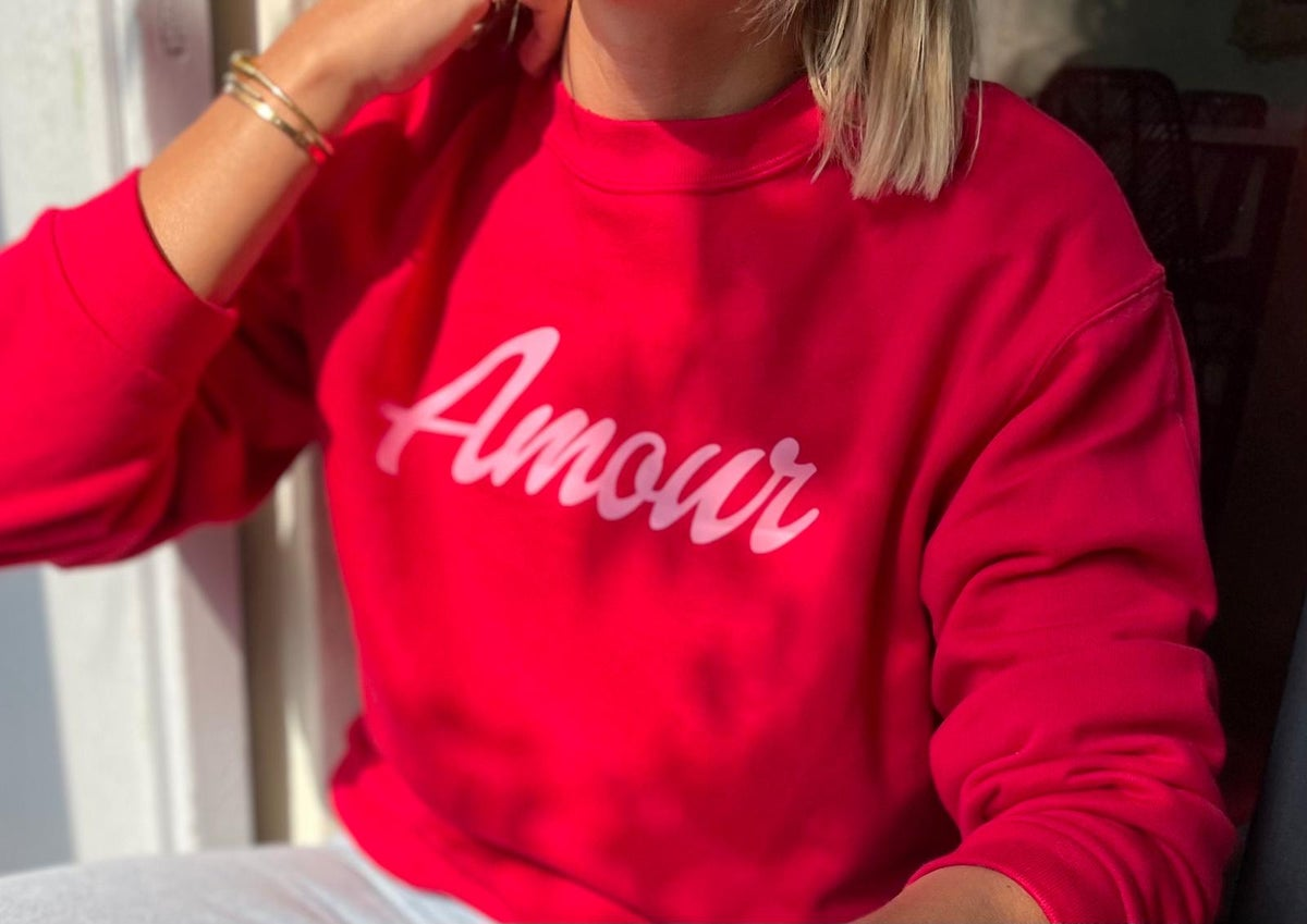 Image of Sweat amour collab pharma Anglo française cannes