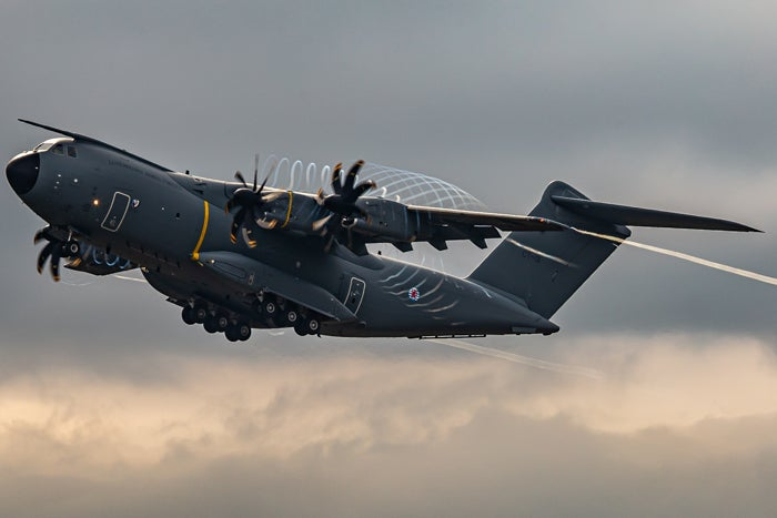 Image of Airbus A400M Luxembourg Armed Forces