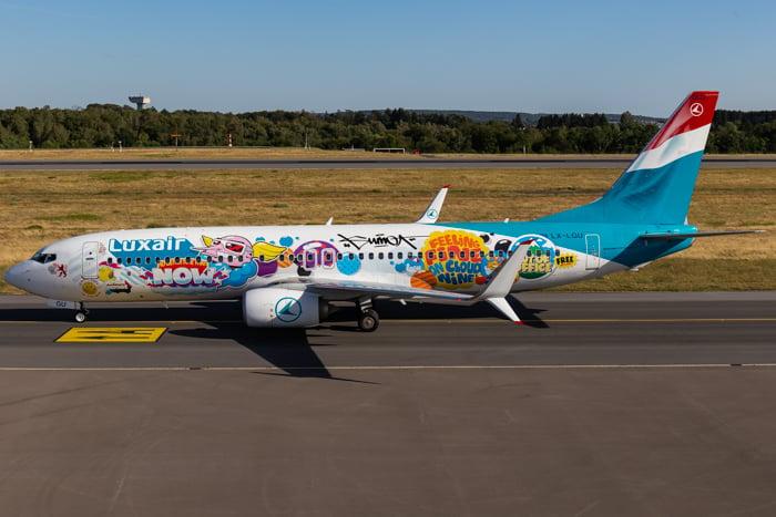 Image of Luxair B738 LX-LGU SUMO