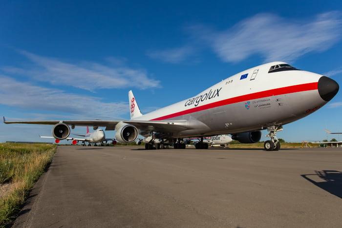 Image of Cargolux B744F LX-NCL