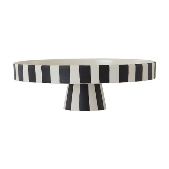Image of Toppu Tray Large (White/Black) by OYOY