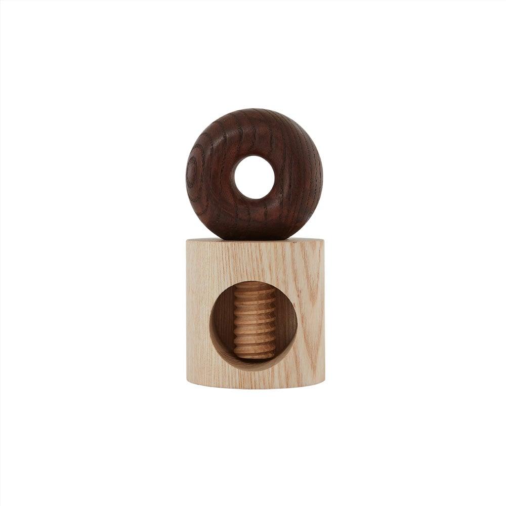 Image of Hoop wooden Nutcracker by OYOY