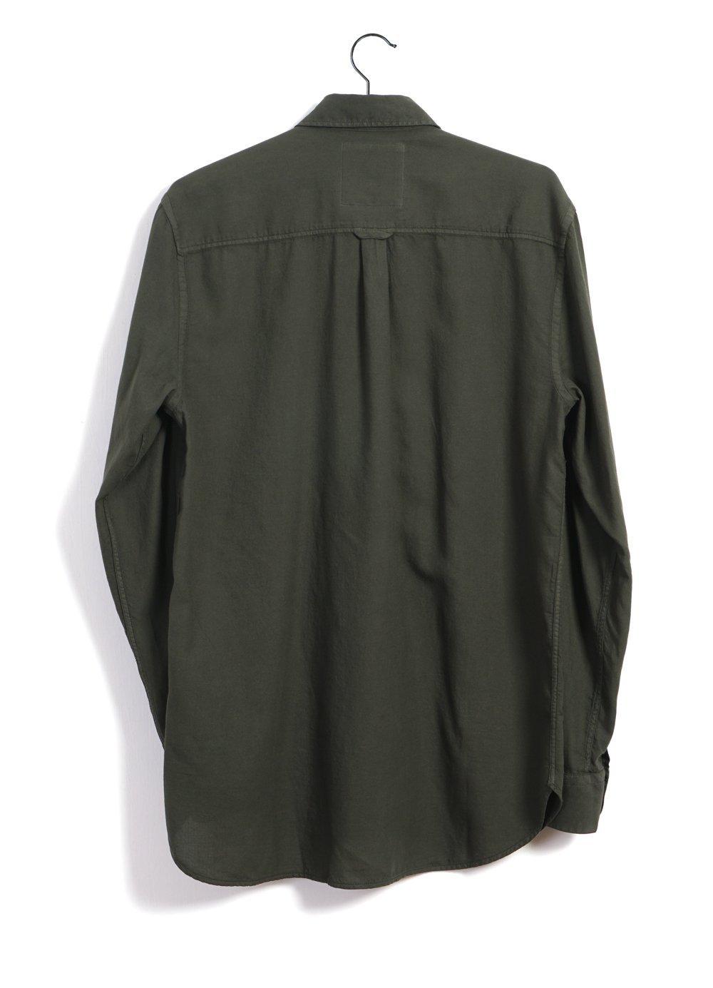 Hansen Garments HENNING   Casual Classic Shirt   white, shark, bottle
