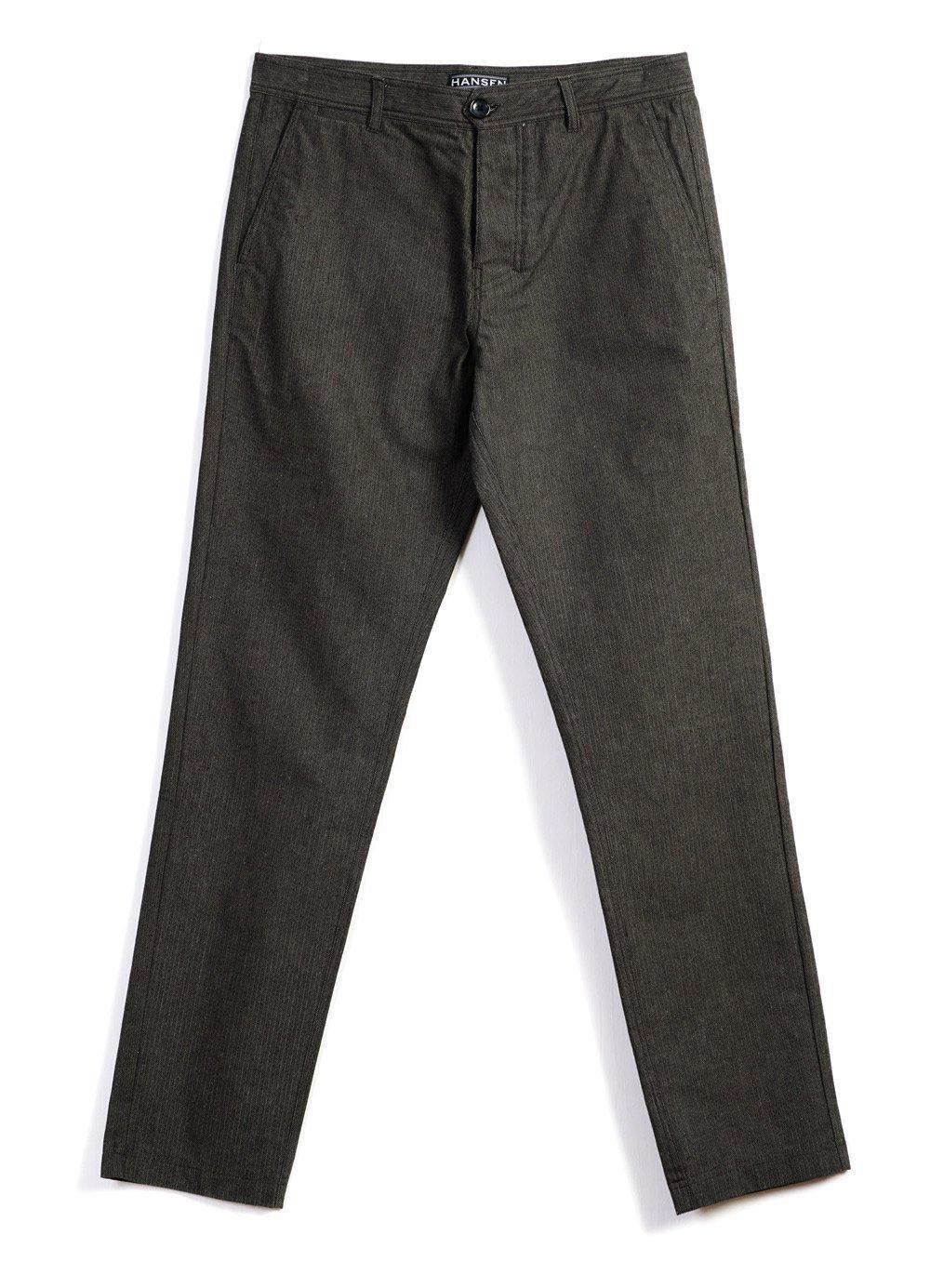 Hansen Garments FRED   Regular Fit Trousers   nut, northsea, woods