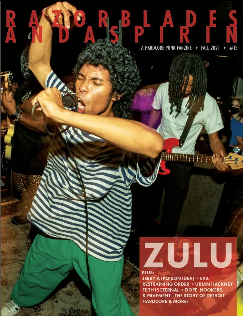 RAZORBLADES & ASPIRIN #13 - Digital Download