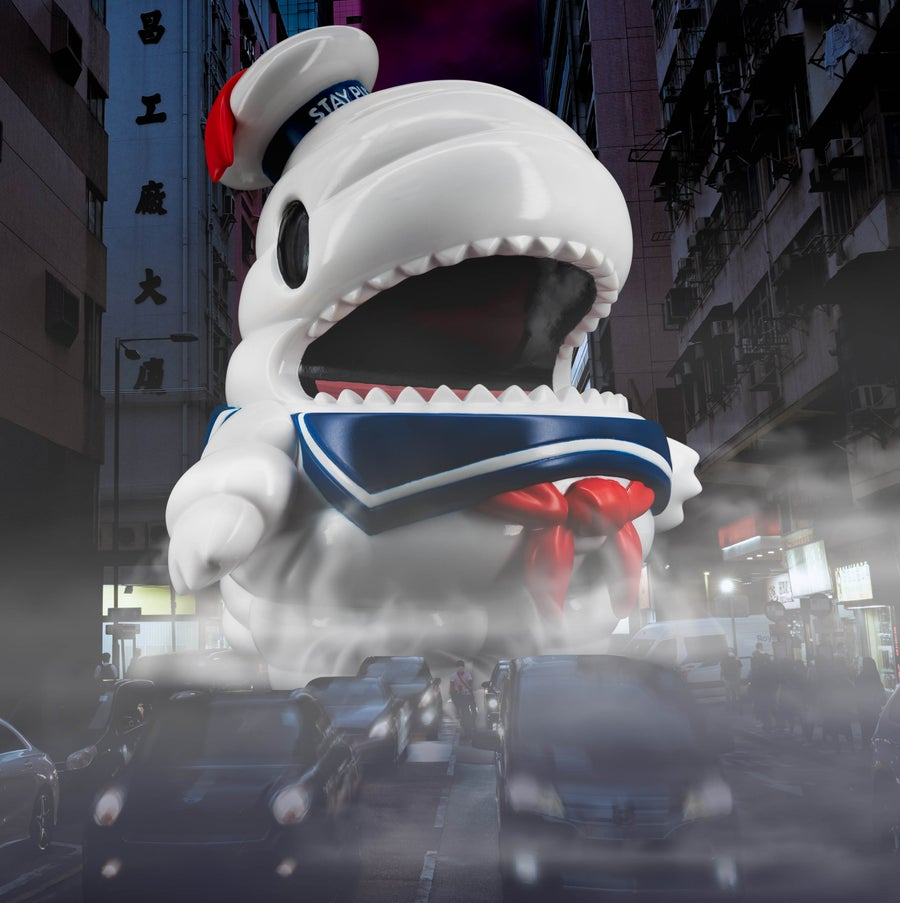 Image of GHOSTBUSTERS SUPER-SIZE STAY PUFT DINO PRE-ORDER