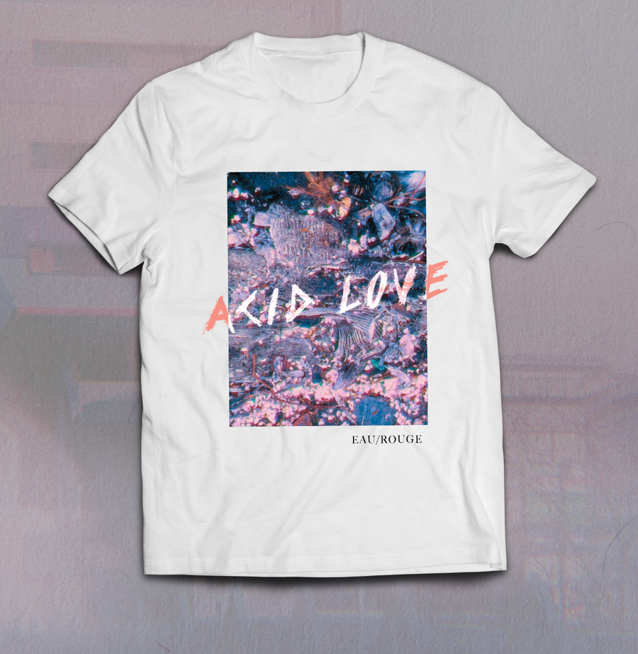 Image of Acid Love 'Car Parts and Blossoms' Shirt (white)