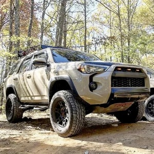 Image of Faux Non OEM TRD Pro Style Grille with Raptor Lights for 2020-2021 Toyota 4Runner
