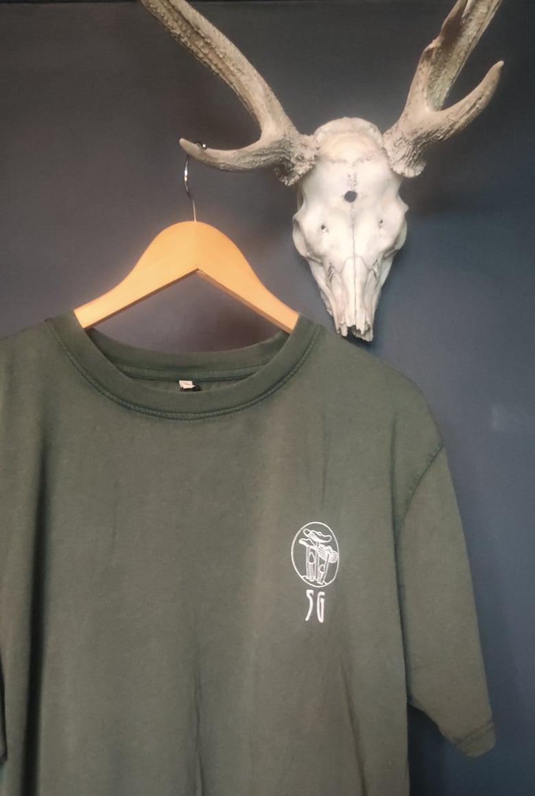 Image of Seafoam Green T Shirts - LARGE GREEN