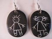 Image of Earrings boy and girl