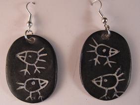 Image of Earrings birds
