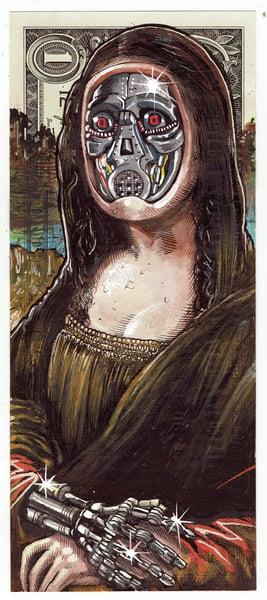 Image of Real Dollar Original. Machine Mona.