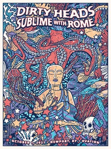 Image of Dirty Heads / Sublime with Rome Main Show Print 2021