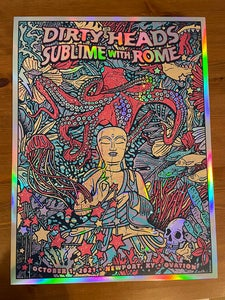Image of Dirty Heads / Sublime With Rome Rainbow Foil 2021