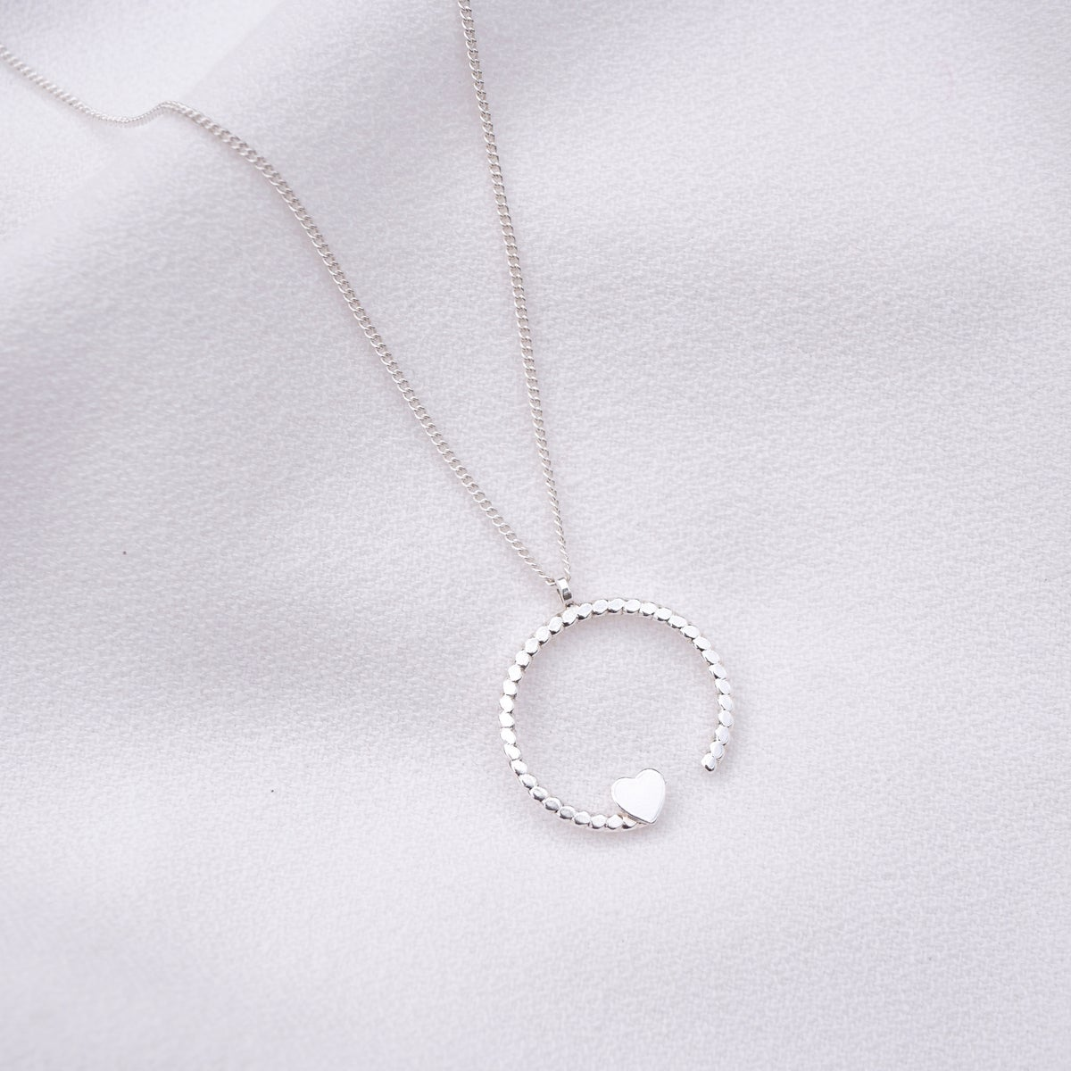 Image of Collier LOVELY Argenté