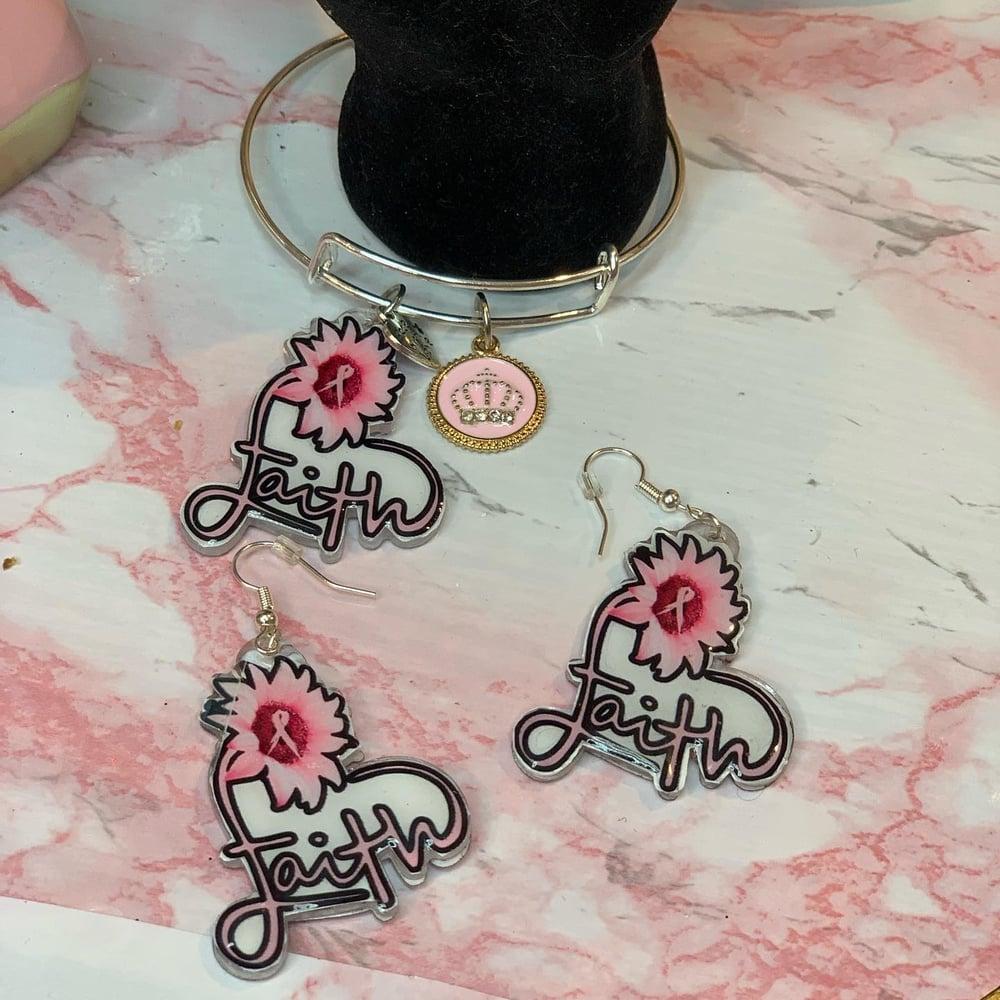 Image of Bangle & earrings set