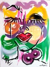 """""""She"""" - PRINTS - From Creative Juices LIVE Painting"""