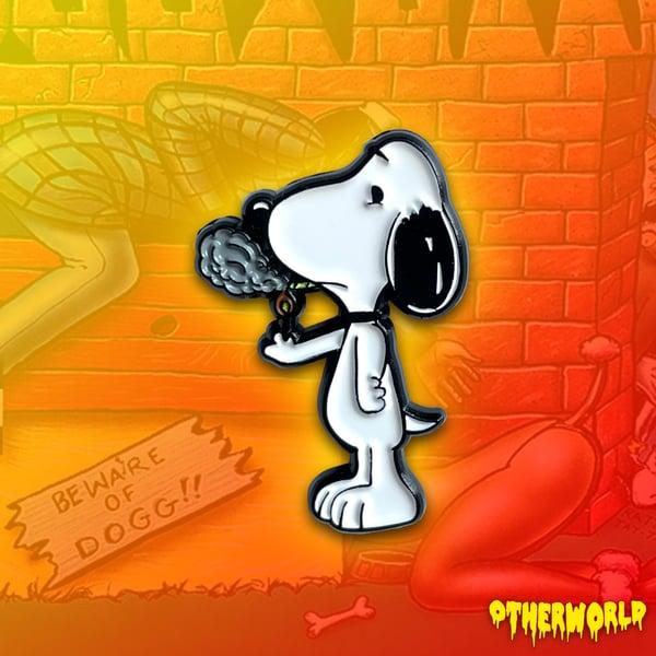 Image of Snoop Dog pin