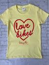 Love Bikes Ladies Tee